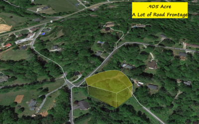 .905 Acre Property Just Outside Downtown Marion, NC – No Restrictions – Assessed at $16,000; Comps are HIGHER – Buy for $15,000 with $1000 Down or $13,500 Cash!