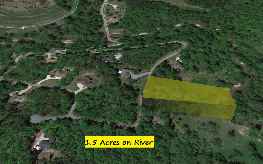 1.5 Acre Riverfront Lot in Tryon, NC – Just Minutes from International Equestrian Center – County Assessed Value is $28,570 – BUY TODAY FOR $12,500!!
