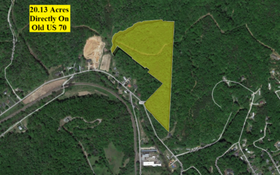20.13 Acres with Unrestricted Use Direct of Old Highway 70 – Old Fort, NC – 19.5 Acres Nearby Sold for $130,000 – BUY THIS PROPERTY for $60,000!