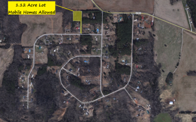 1.12 Acres in Statesville, NC – Mobile Homes Permitted.  The County Value is $21,000.  Sold Comps Range from $14,000 to $17,000.  BUY TODAY FOR $11,000!!