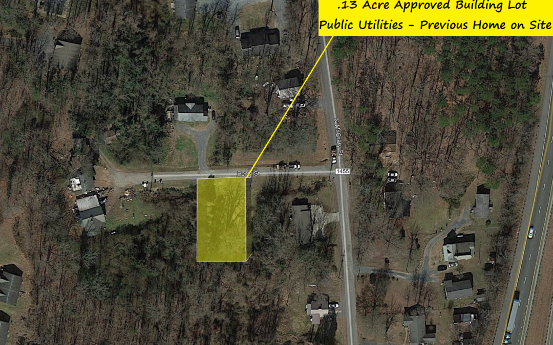 Small 50′ x 113′ Approved Building Lot in Asheboro, NC – Used to Have Home on It – Valued at $12,300 – BUY FOR $6500!!