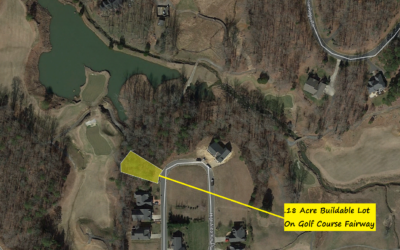 .18 Acre Lot in Tot Hill Farm Golf Club, Asheboro, NC – Lot Sits on Fairway!  The County Values at $30,110.  BUY FOR ONLY $9900!!