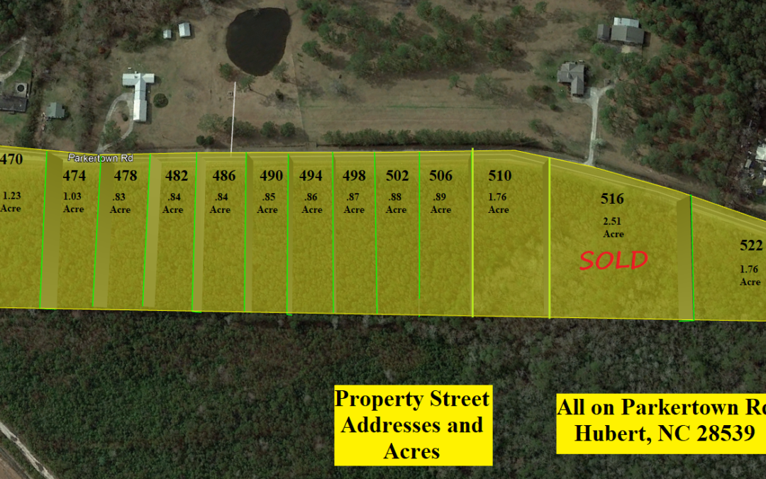14 Building Lots Available with Improvement Permits in Hand!! – One Sold – Buy from 1 to 13 – Package Deal Available – Available Under Comps – Ready to Build!!