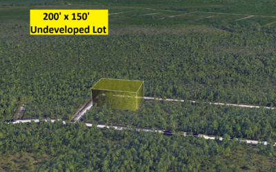 .68 Acre Lot in Boiling Springs Lakes, NC – Allows Mobile Homes and Single Family – Less Developed Area – BUY as Investment for Only $7000 with Financing!!  $6000 CASH!!
